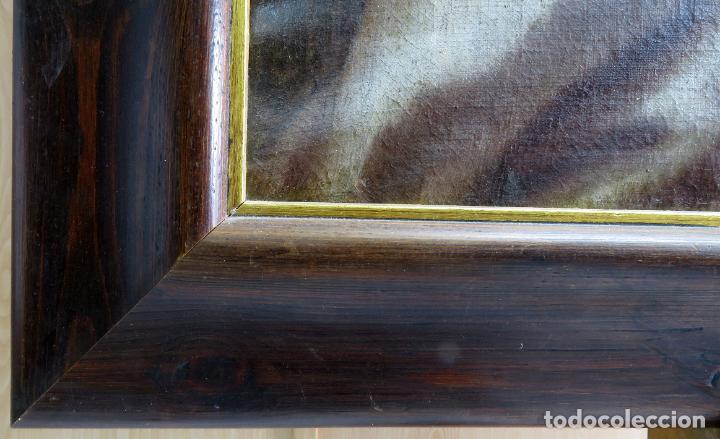 Arte: La idolatría de Salomón óleo sobre lienzo seguidor Luca Giordano escuela italiana finales siglo XVII - Foto 14 - 183829378