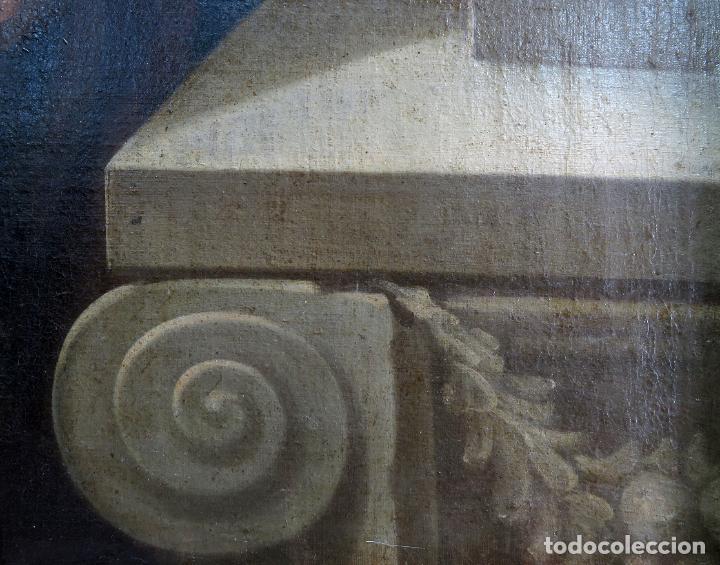 Arte: La idolatría de Salomón óleo sobre lienzo seguidor Luca Giordano escuela italiana finales siglo XVII - Foto 15 - 183829378