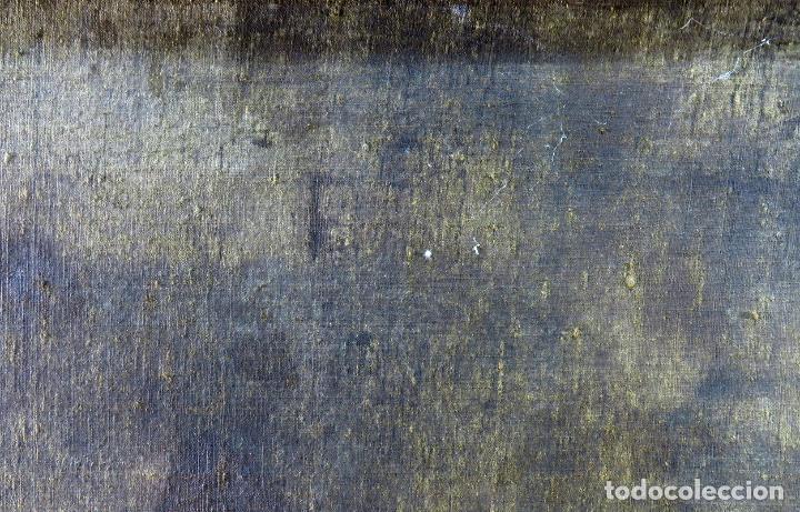 Arte: La idolatría de Salomón óleo sobre lienzo seguidor Luca Giordano escuela italiana finales siglo XVII - Foto 19 - 183829378