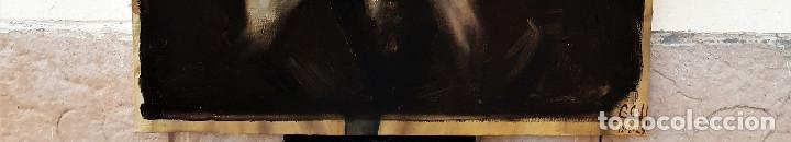 "Arte: El Señor Simón, ""Matapulgas"". Óleo sobre lienzo. Firmado: Claudio Coll. 12-8-1925. - Foto 2 - 183830892"