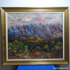 Arte: OLEO SOBRE TELA ANONIMO.MUCHA PASTA.ESCUELA JOAN ABELLO.BUEN TRAZO.. Lote 183865456