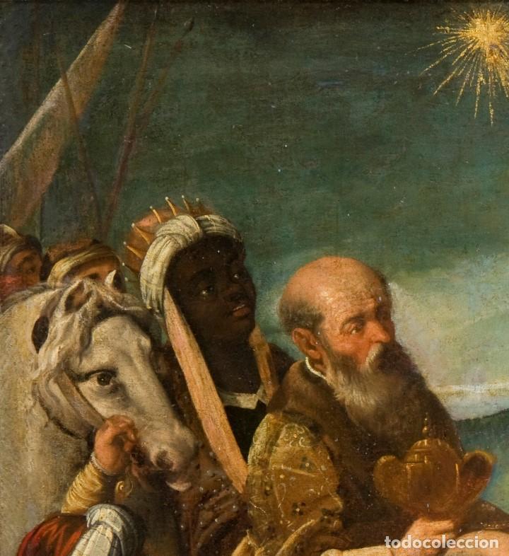 Arte: Escuela Española Siglo XVII - EPIFANÍA - Foto 2 - 151840502