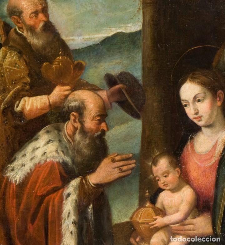 Arte: Escuela Española Siglo XVII - EPIFANÍA - Foto 3 - 151840502