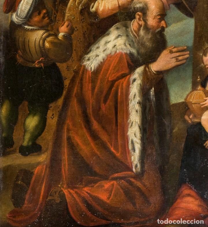 Arte: Escuela Española Siglo XVII - EPIFANÍA - Foto 4 - 151840502