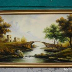 Arte: PINTURA AL OLEO SOBRE LIENZO FIRMADO POR CAMPILLO . Lote 183907228