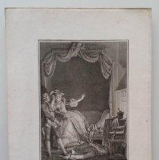 Arte: MOREAU LE JEUNE, ESCENA DE CANDIDO, DE VOLTAIRE, 1787. Lote 183911993