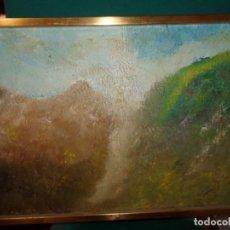 Arte: OLEO ENMARCADO PAISAJE ABSTRACTO MEDIDA 57 X 40 CMS.. Lote 183926801