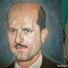 Arte: OLEO SOBRE LIENZO RETRATO CABALLERO FIRMADO A. MARIO FECHA 4-12-45 MEDIDA 40 X 30 CMS. Lote 183927225