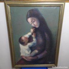 Arte: GRAN ÓLEO SOBRE TELA FIRMADO PIZARRO.ESCUELA PEDRO BUENO.. Lote 183962627