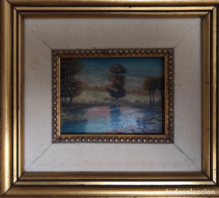 Arte: Óleo sobre tabla,siglo XIX. - Foto 2 - 254120280