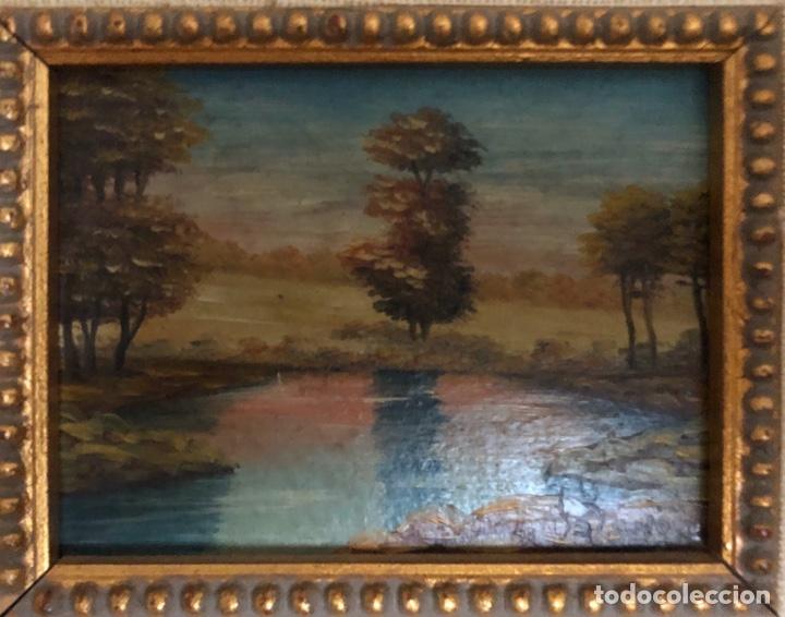 ÓLEO SOBRE TABLA,SIGLO XIX. (Arte - Pintura - Pintura al Óleo Antigua sin fecha definida)