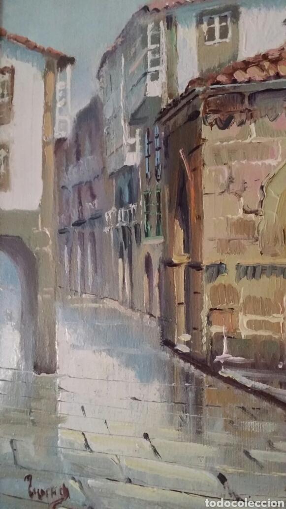 Arte: Óleo Santiago de Compostela - Foto 3 - 184186617