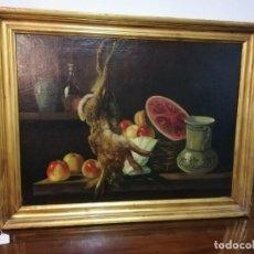 Arte: OLEO BODEGON SIGLO XIX. Lote 184213131