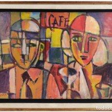 Arte: ANTONIO PEZZINO (1921- 2004) OBRA CONSTRUCTIVISTA DEL INTEGRANTE DEL TALLER JOAQUÍN TORRES GARCÍA. Lote 184268912