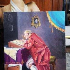 Arte: ÓLEO SOBRE LIENZO, FIRMADO FRANCES, 27X22CM. SIN MARCO. Lote 184271127