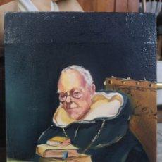 Arte: ÓLEO SOBRE LIENZO, FIRMADO FRANCES, 27X22CM. SIN MARCO. Lote 184271221