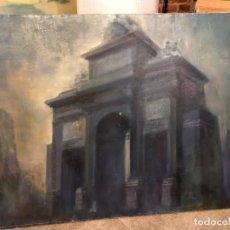 Arte: PUERTA DE TOLEDO DE MADRID, GRAN FORMATO. Lote 184294526
