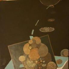 Arte: BISERKA GALL ( ZAGREB ,1942-2002) COMPOSICIÓN, ÓLEO SOBRE LIENZO 47 X 31. Lote 184294960