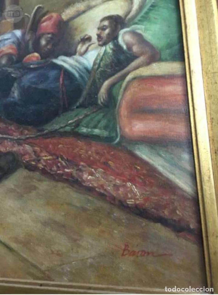 Arte: Óleo lienzo Antigüedades - Foto 2 - 184521928