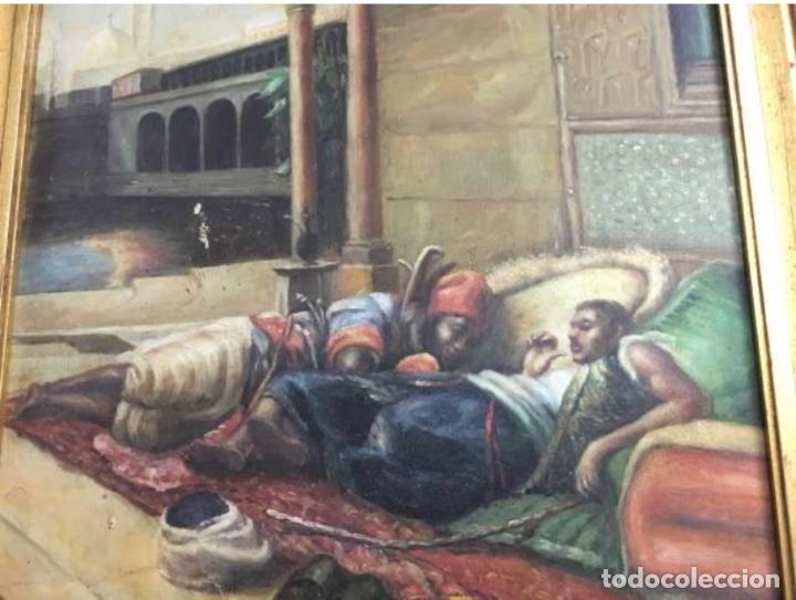 Arte: Óleo lienzo Antigüedades - Foto 3 - 184521928