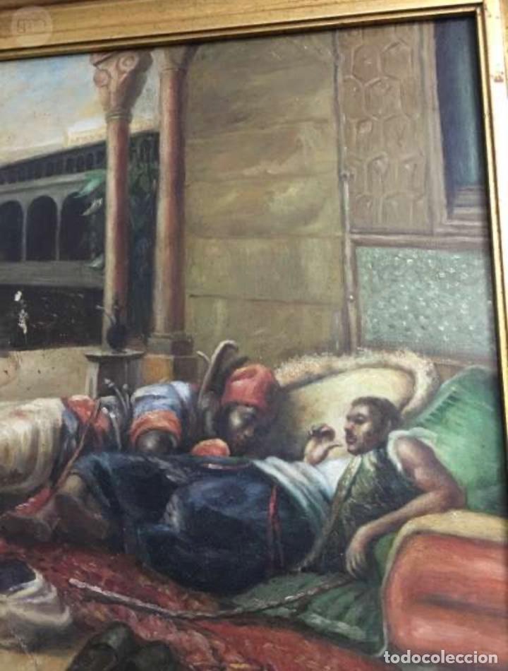 Arte: Óleo lienzo Antigüedades - Foto 6 - 184521928
