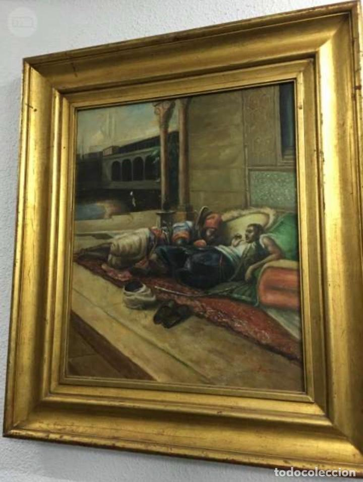 Arte: Óleo lienzo Antigüedades - Foto 7 - 184521928