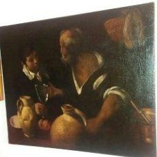 Arte: DE SILVA Y VELÁZQUEZ, DIEGO RODRÍGUEZ (SEVILLA 1599- MADRID 1660) CÍRCULO DE: AGUADOR CON NIÑO. Lote 184594312
