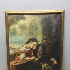 Arte: PINTURA AL ÓLEO SOBRE LIENZO FIRMADA. Lote 184604932