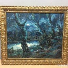 Arte: PINTURA AL ÓLEO SOBRE LIENZO FIRMADA POR COSTA SALDES. Lote 184611207