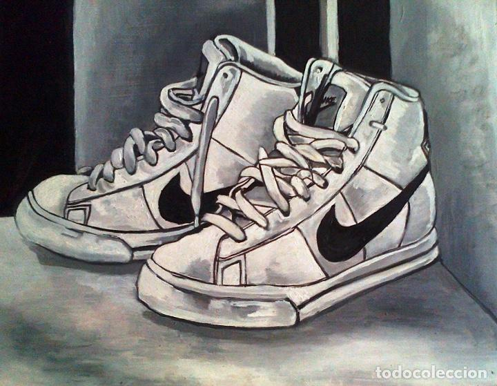 cobertura Empleador Jadeo  cuadro serie grisallas solo blanco y negro bota - Buy Paintings directly  from the Artist at todocoleccion - 184633343