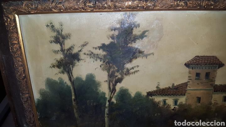 Arte: Cuadro antiguo, fimado medidas 120x80cm - Foto 7 - 184695862