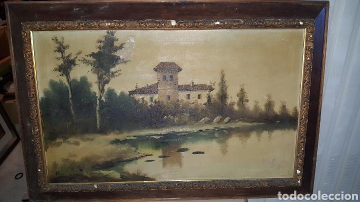 CUADRO ANTIGUO, FIMADO MEDIDAS 120X80CM (Arte - Pintura - Pintura al Óleo Antigua sin fecha definida)