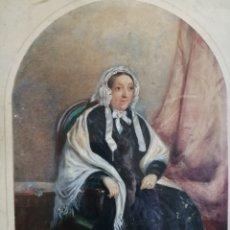 Arte: GOUACHE Y CERA SOBRE CARTÓN. FIRMADO ILEGIBLE.. Lote 184769163