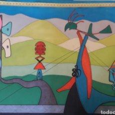 Arte: PRECIOSO CUADRO PINTURA FIRMADA AÑO 94. Lote 184777480