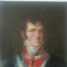 Arte: GOYA Y LUCIENTES, FRANCISCO DE (FUENTEDETODOS 1746-BURDEOS 1828), ATRIBUIDO :RETRATO DE FERNANDO VII. Lote 184781496