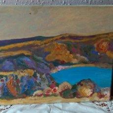 Arte: CUADRO ( OLEO EN LIENZO SELLADO VICENC PIERA , NUMERADO ). MÁS CUADROS ANTIGUOS EN MI PERFIL.. Lote 184852433
