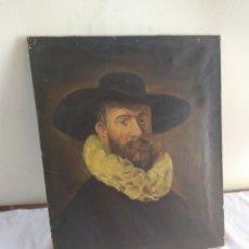 Arte: ANTIGUA PINTURA ÓLEO SOBRE LIENZO SIGLO XVIII. Lote 184932461