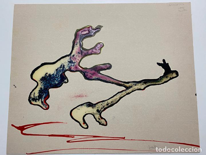 Arte: GERARDO DELGADO . PINTURA ORIGINAL , ABSTRACCIÓN , ACRILICO , FIRMADO 1988 , SEVILLA - Foto 14 - 124435147