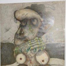 Arte: ANTONIO JIMENEZ PINTURA ORIGINAL DE 1980 - 81 PINTOR MALAGUEÑO. Lote 47894457