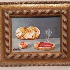 Arte: CUADRO, PINTADO SOBRE MADERA, FIRMADO( MEDIDAS 18'5× 15'5 CTM). Lote 185415265