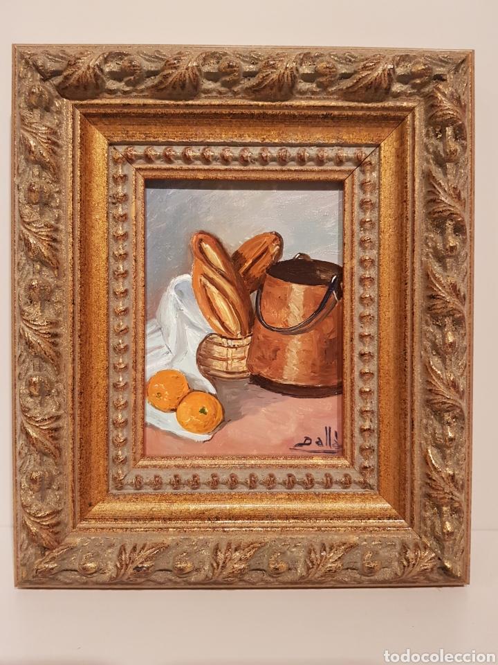 CUADRO, PINTURA SOBRA MADERA, CON FIRMA(20'5 × 17' 5 CTM) (Arte - Pintura Directa del Autor)