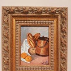 Arte: CUADRO, PINTURA SOBRA MADERA, CON FIRMA(20'5 × 17' 5 CTM). Lote 185418356