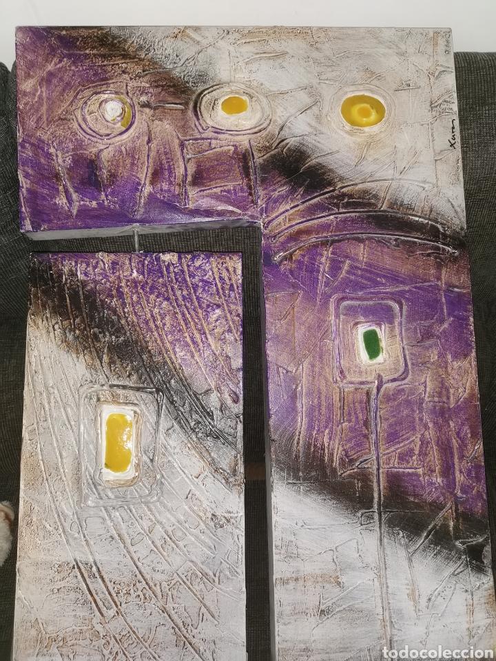 Arte: Cuadro óleo original gran formato. Sils. - Foto 4 - 185646220