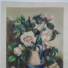 Arte: A. LAFUENTE ACUARELA MOTIVO FLORAL. Lote 185659637