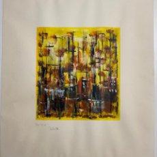 Arte: GERARDO DELGADO . PINTURA ORIGINAL , ABSTRACCIÓN , ACRILICO , FIRMADO EN 1986 ,SEVILLA. Lote 124434611