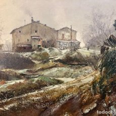 Arte: OLEO SOBRE TELA VILA ARIMANY. Lote 185698873