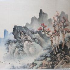 Arte: PAISAJE ESCUELA CHINA S.XX. Lote 185720557