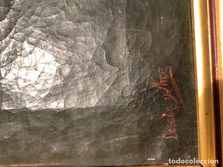 Arte: Cuadro Antiguo Firmado Losada Arce - Foto 6 - 185730898