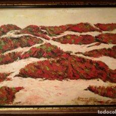 Arte: FRANCISCO LOZANO OLEO LIENZO. Lote 185751265