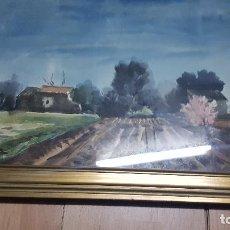 Arte: VIDAL SERRULLA-CASTELLON 1923-1996-PAISAJE TIPICA DE CASTELLON. Lote 185772491